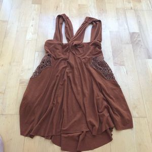 Free People Cut Out Top